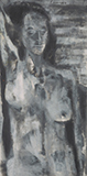 Grey Nude - Akbar  Padamsee - Spring Live Auction