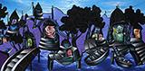 Banaras in Blue - Manu  Parekh - Spring Online Auction