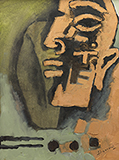 Untitled - M F Husain - Spring Online Auction