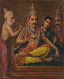 Hanuman`s Discourse - Raja Ravi Varma - Spring Online Auction