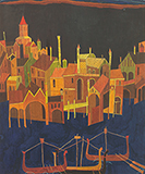 Untitled (Venice) - S H Raza - Spring Online Auction