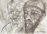 Untitled - Akbar  Padamsee - Evening Sale   New Delhi, Live