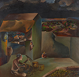 Tradesman - Bhupen  Khakhar - Evening Sale | New Delhi, Live