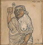 Untitled - Jogen  Chowdhury - Evening Sale   New Delhi, Live