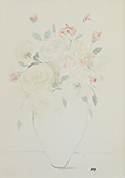 Untitled (Roses) - K H Ara - Summer Online Auction