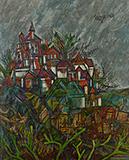 Untitled (Hampstead) - F N Souza - Summer Online Auction