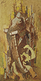 Untitled (Kerala Series) - M F Husain - Summer Online Auction