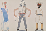 Darwaza Kholo (Cuckoonebulopolis) - Surendran  Nair - Summer Online Auction