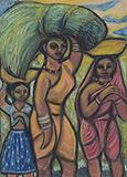 Untitled - Chittaprosad  Bhattacharya - Winter Online Auction