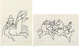 - M F Husain - Winter Online Auction