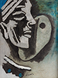 M F Husain - Winter Online Auction