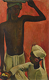 Boys with Lemons - Amrita  Sher-Gil - Spring LIVE Auction | Mumbai, Live