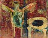 Untitled - Ganesh  Pyne - Spring LIVE Auction   Mumbai, Live