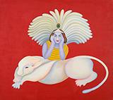 Untitled - Manjit  Bawa - Spring LIVE Auction   Mumbai, Live