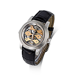 GIRARD-PERREGAUX: `OPERA ONE` TRIPLE BRIDGE TOURBILLON WRISTWATCH -    - Spring LIVE Auction | Mumbai, Live