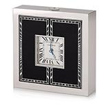 CARTIER: ART DECO TRAVEL DESK CLOCK -    - Spring Online Auction