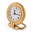 CARTIER: TRAVEL ALARM CLOCK - Spring Online Auction