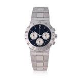 BVLGARI: `DIAGNO` STAINLESS STEEL WRISTWATCH -    - Spring Online Auction