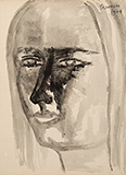 Untitled - Akbar  Padamsee - WORKS ON PAPER