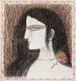Untitled - Ganesh  Pyne - WORKS ON PAPER