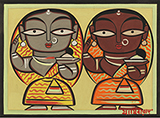 Untitled - Jamini  Roy - WORKS ON PAPER