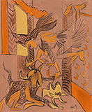 Untitled - K G Subramanyan - WORKS ON PAPER