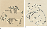 - M F Husain - WORKS ON PAPER