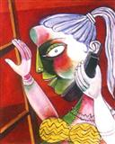 Paritosh  Sen-Woman with Telephone