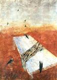 Anjolie Ela Menon-Untitled