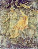 Sakti  Burman-Flight to Egypt