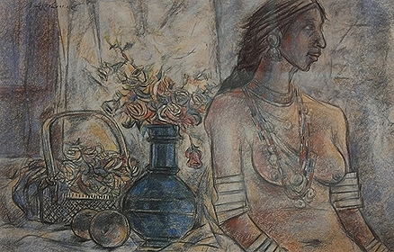 Untitled (Still Life with Woman)