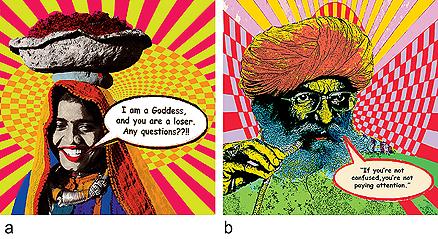 a) I am a Goddess <br> b) Pipe Dreams