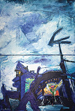 Manu  Parekh-Blue Sky