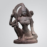 -Seated Devi