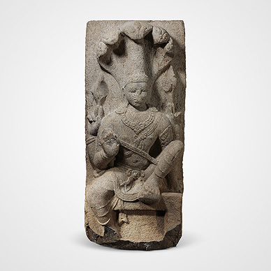 Vishnu with Anantha
