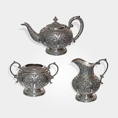 Karachi Tea Set by J. Manikrai