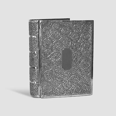 Kashmir Box Formed as a Book