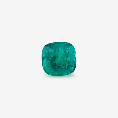 AN UNMOUNTED COLOMBIAN EMERALD