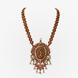 -A GEMSET 'KRISHNA' NECKLACE