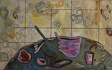 Lancelot  Ribeiro-Still Life with Bowl