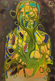 Lancelot  Ribeiro-Untitled (Green Man)