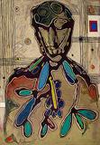 Lancelot  Ribeiro-Untitled (Head of a Man)