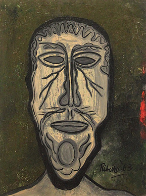Untitled (Head of a Man)