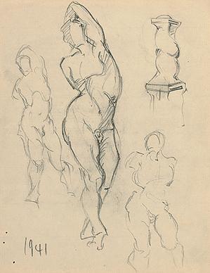 Untitled (Male nude studies)