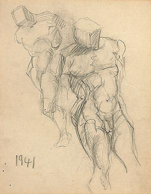 Untitled (Male nudes)