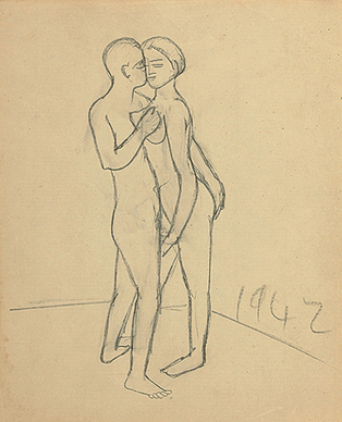 Untitled (couple)