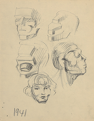Untitled (Heads)