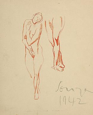Untitled (Nude study)
