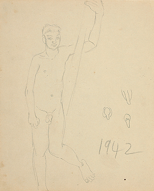 Untitled (Nude male)