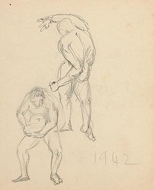 Untitled (Figure Studies)